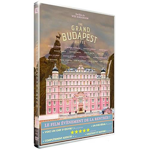 DVD - The Grand Budapest Hotel