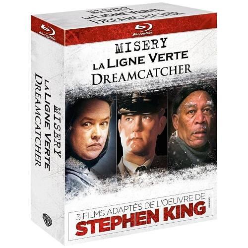 Blu-ray - 3 films adaptés de l'oeuvre de Stephen King : Dreamcatcher Misery La ligne verte [Édition Limitée]