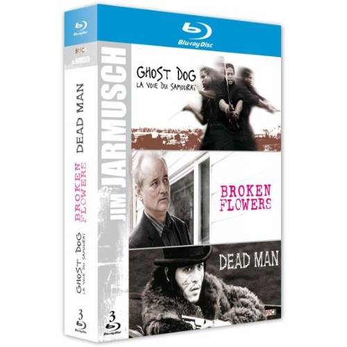 Blu-ray - Coffret Jim Jarmusch : Ghost dog et Dead man et Broken flowers