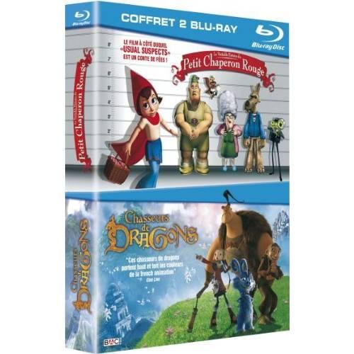 Blu-ray - Chasseurs de dragons et La véritable histoire du petit chaperon rouge