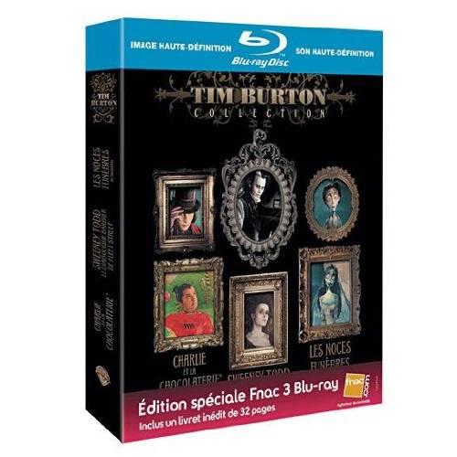 Coffret Tim Burton - Blu-Ray - Edition Spéciale