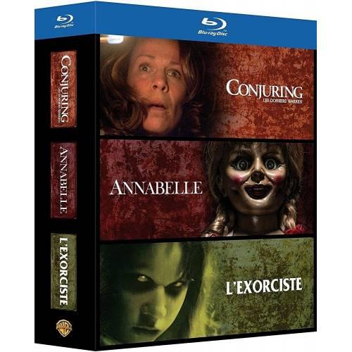 Blu-ray - Conjuring : les dossiers Warren et Annabelle et L'exorciste