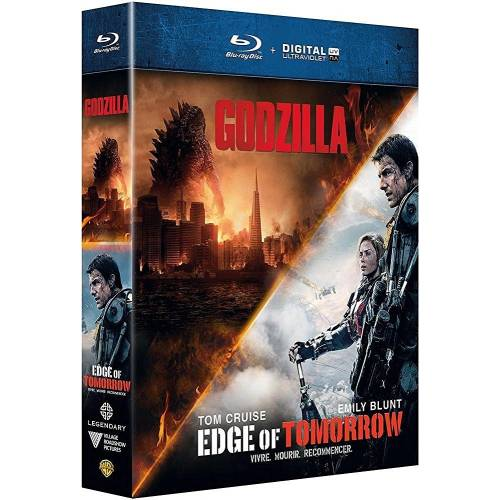 Edge of Tomorrow et Godzilla [Blu-ray et Copie digitale]