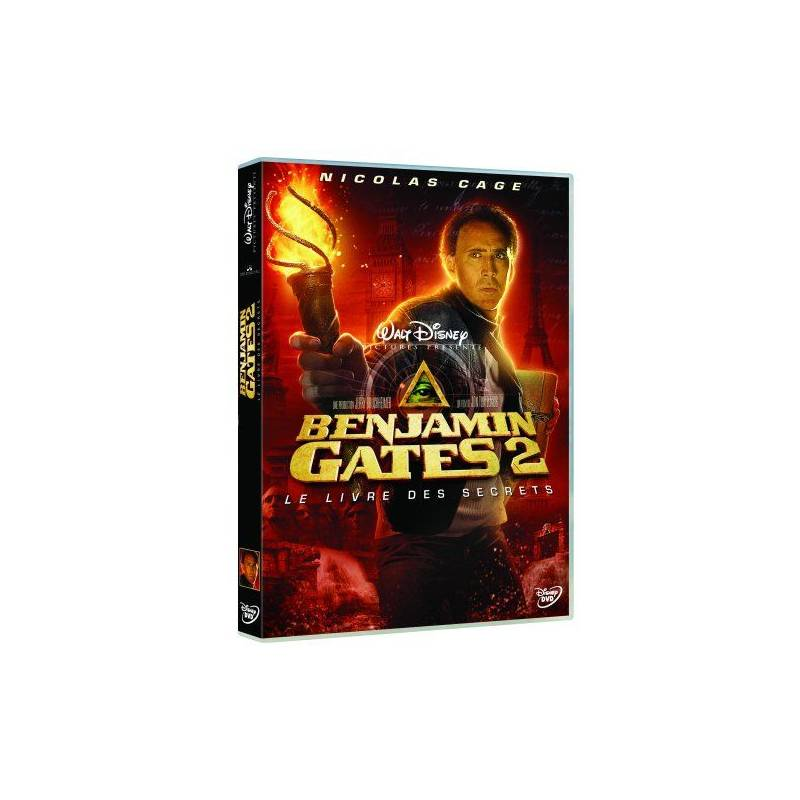 DVD - National Treasure: Book of Secrets