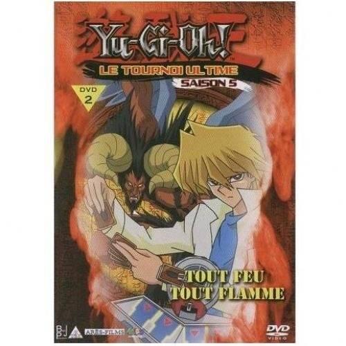 Dvd - Yu gi oh Le Tournoi Ultime Saison 5, vol. 2 : Tout Feu Tout Flamme