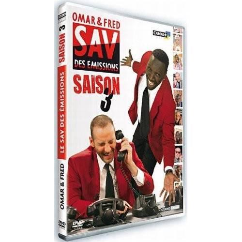 Dvd - Omar & Fred - SAV des émissions - Saison 3
