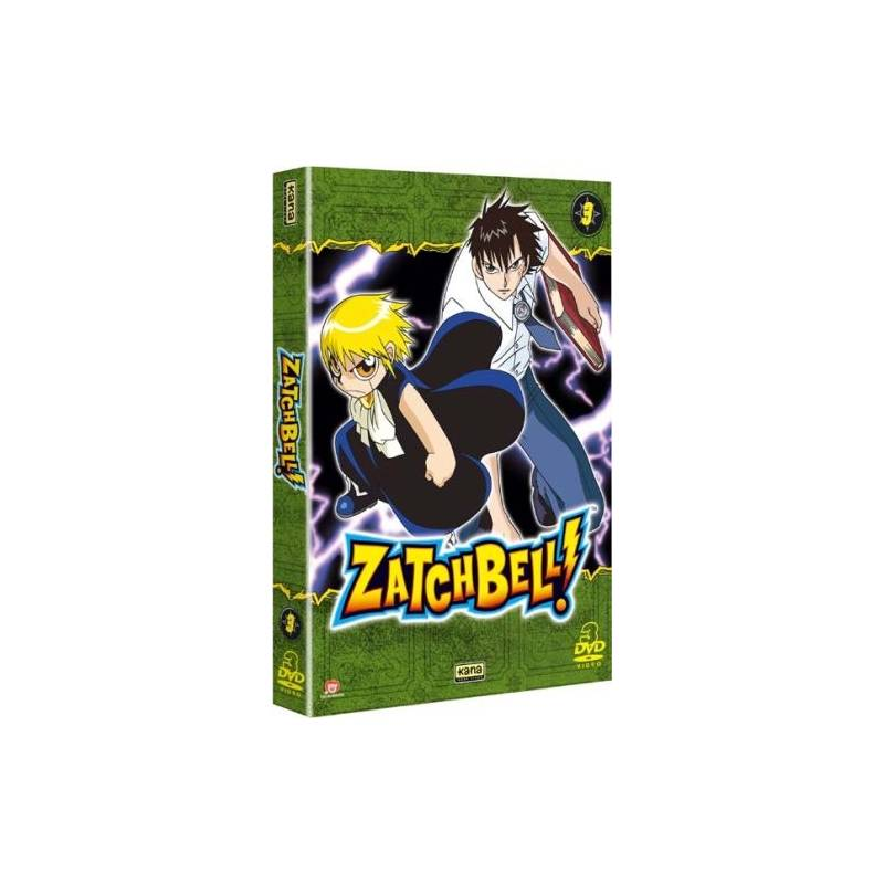 DVD - Zatchbell Vol. 7, 8 & 9
