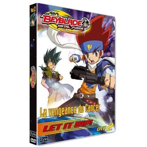 DVD - Beyblade Metal Fusion Vol. 2: Revenge of Cancer