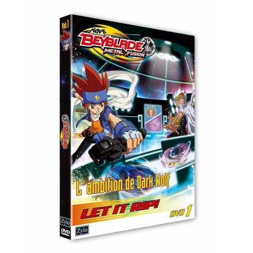 DVD - Beyblade Vol. 1: The ambition of Dark Wolf