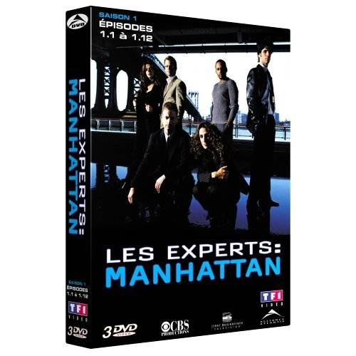 DVD - Les experts : Manhattan - Saison 1 / Partie 1