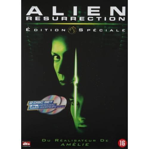 DVD - Alien : La résurrection - Edition Quadrilogy collector - 2 DVD