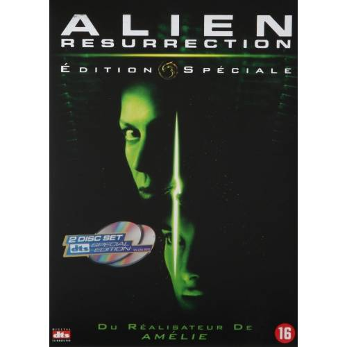 DVD - Alien: Resurrection - Quadrilogy Edition collector - 2 DVD