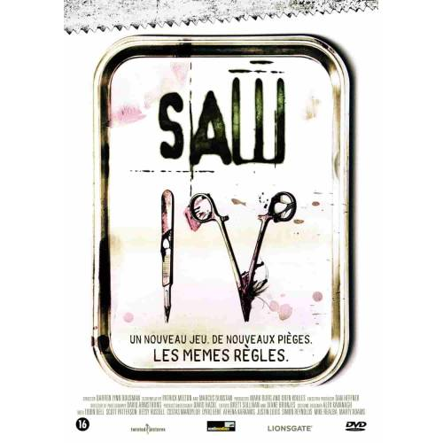 DVD - SAW IV