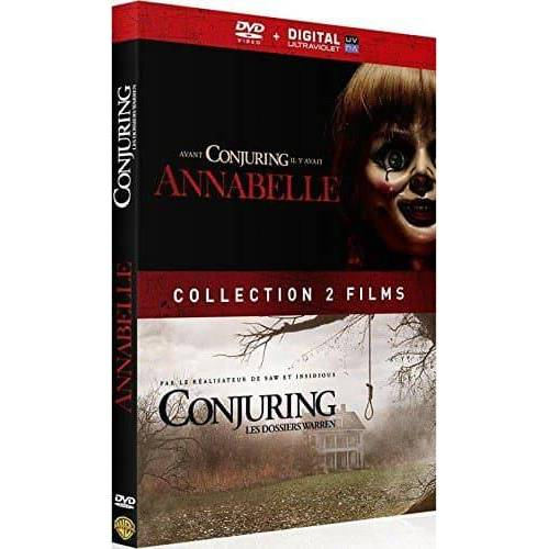 DVD - Annabelle + Conjuring : les dossiers Warren