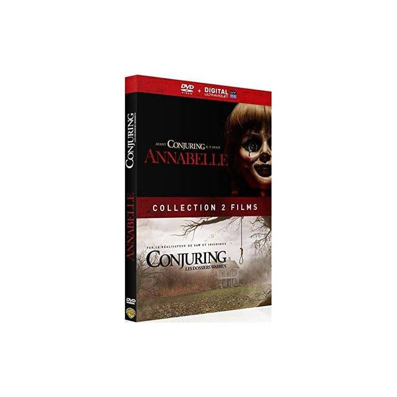 DVD - Annabelle + Conjuring: Warren folders