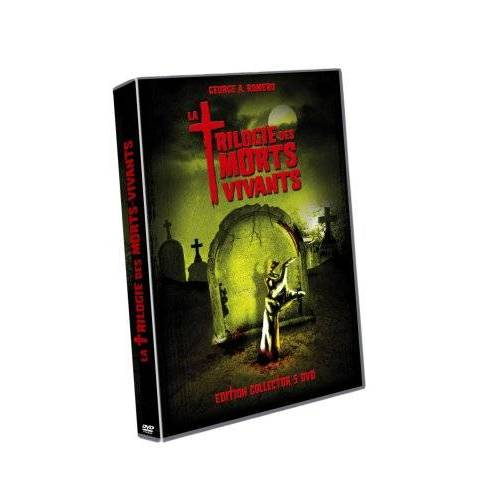 DVD - La Trilogie des morts vivants / Coffret 5 DVD