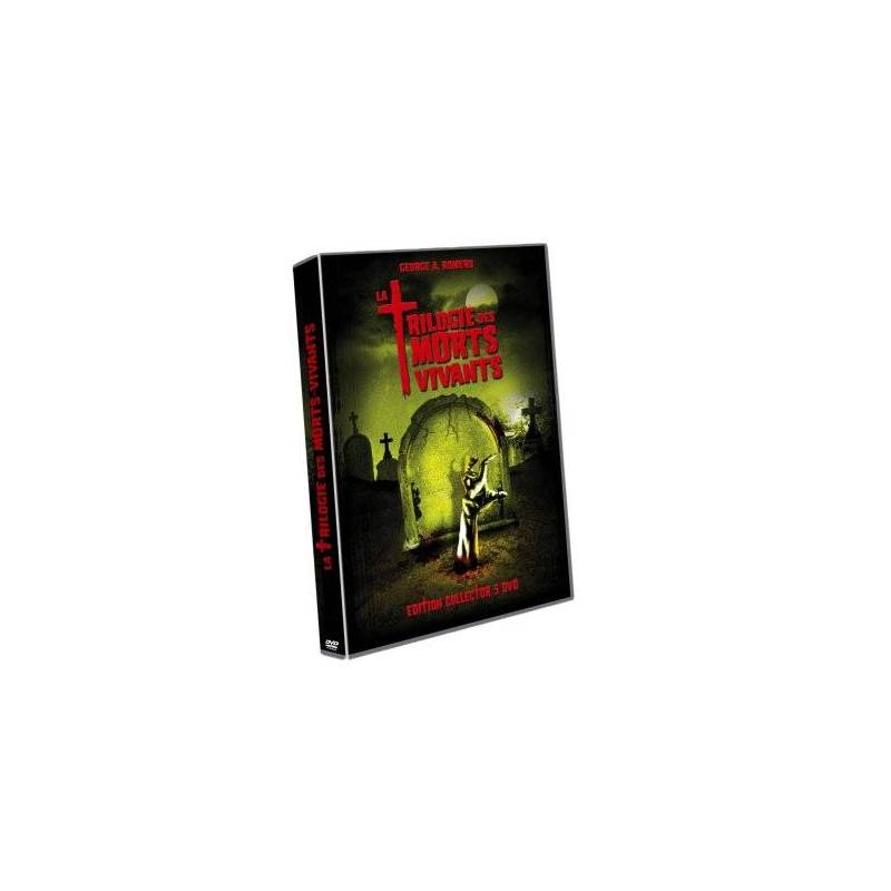 DVD - La Trilogie des morts vivants / Coffret 5 DVD