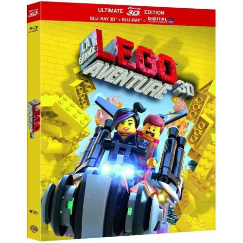 Blu-ray - The Great Lego adventure
