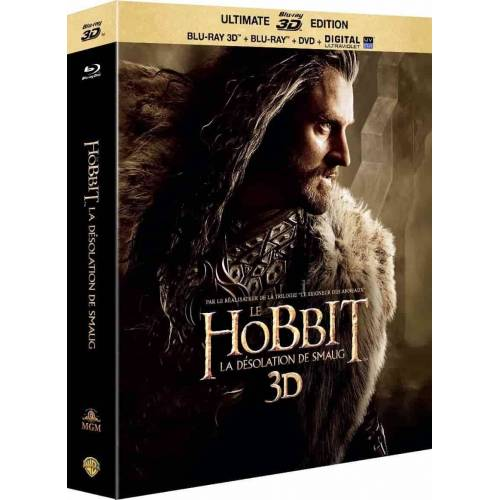 Blu-ray - Le Hobbit : La désolation de Smaug 3D - Edition ultimate