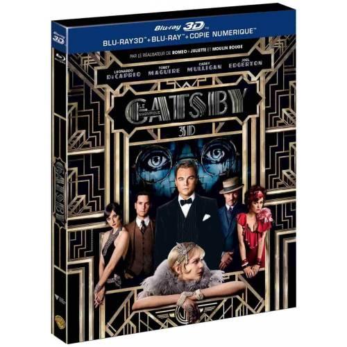 Blu-ray - Gatsby le magnifique (2013) (Blu-ray 3D + Blu-ray + Copie numérique)