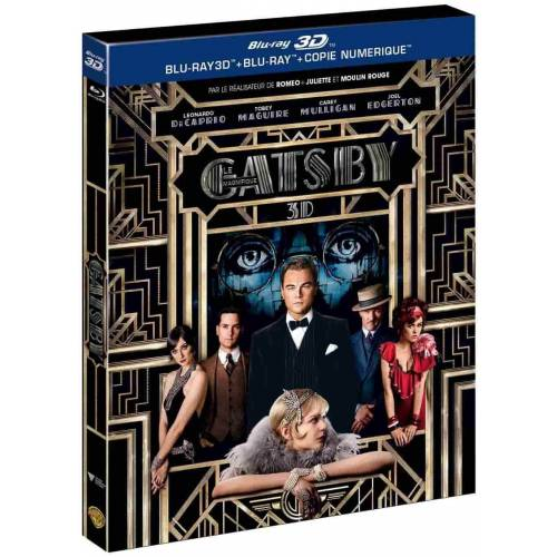 Blu-ray - The Great Gatsby (2013) (Blu-ray 3D + Blu-ray + Digital Copy)