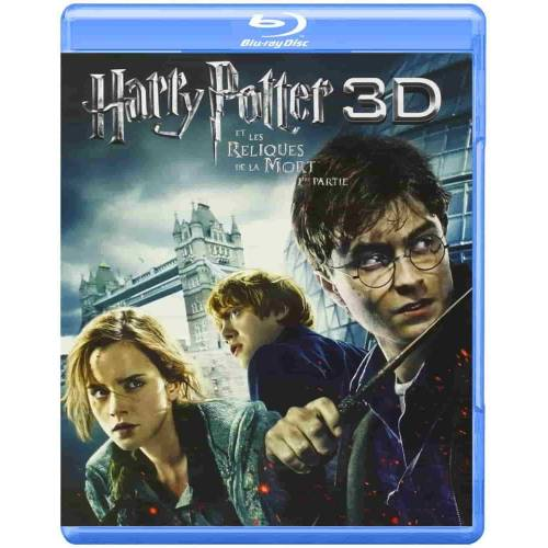 HARRY POTTER AND THE DEATHLY HALLOWS - PART 1 [BLU-RAY COMBO 2D + 3D BLU-RAY]