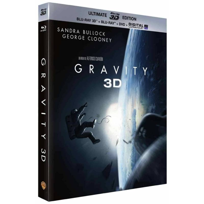 Blu-ray - Gravity - Ultimate édition Blu-ray 3D
