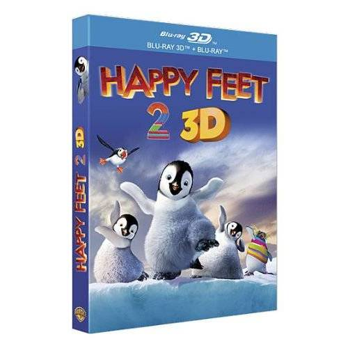 Blu-ray - Happy feet 2 - Blu-ray 3D