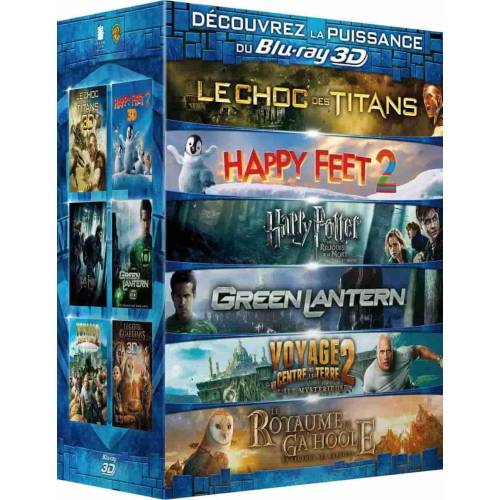 Discover the power of Blu-ray 3D - 6 films (3D Blu-ray)