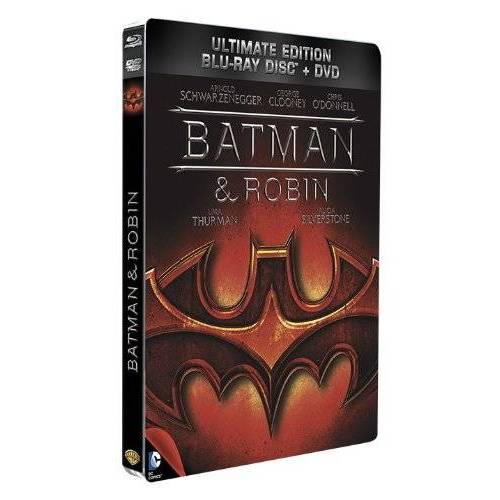 Batman & Robin - Blu-ray Combo Blu-ray - DVD - Édition SteelBook