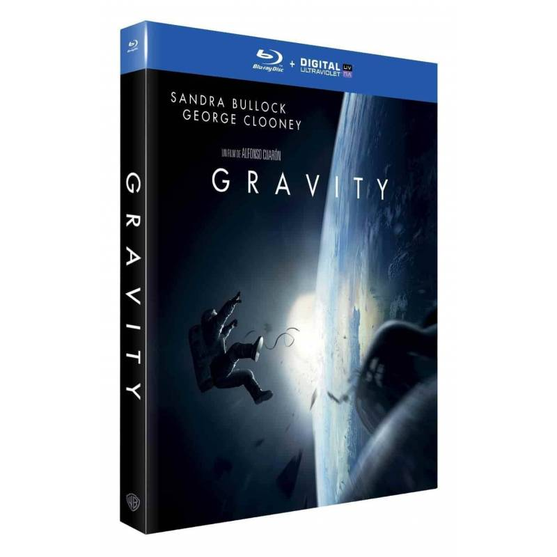 Blu-ray - Gravity (Blu-ray + Digital Ultra Violet)