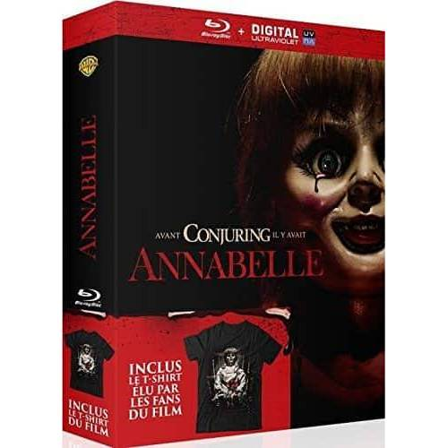Blu-ray - Annabelle - Blu-ray and T-shirt