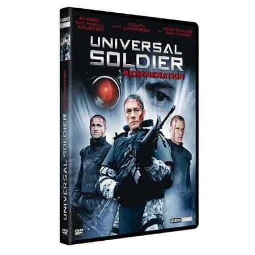 DVD - UNIVERSAL SOLDIER - REGENERATION