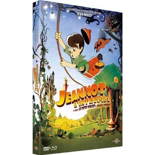 Blu-ray - Jeannot l'intrépide (Blu-ray + DVD)