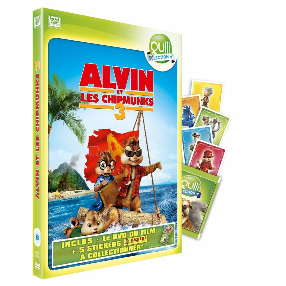 Alvin And The Chipmunks 3 Images dvd - alvin et les chipmunks 3