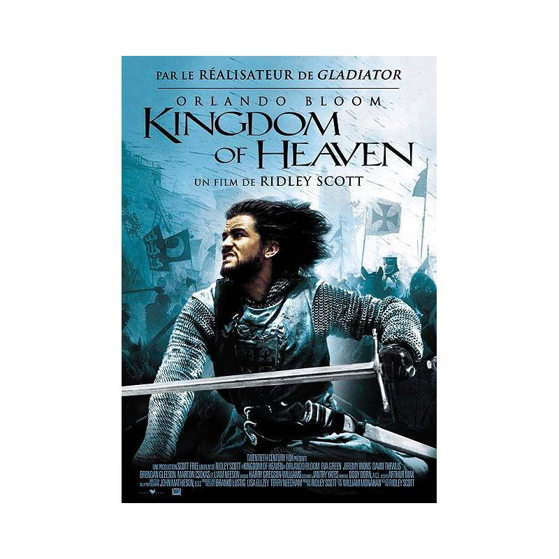 It's just an image of Inventive Kingdom of Heaven Dvd Label